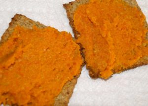 Healthy Carrot Spread