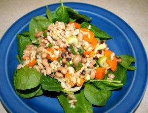 Hoppin' John Salad for Lunch