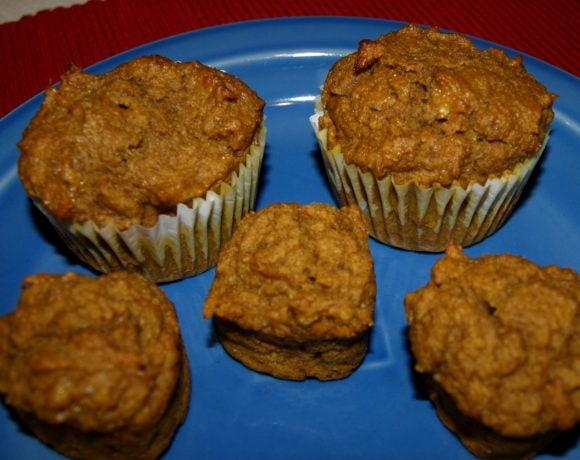 Super Healthy Banana-Pumpkin Muffins