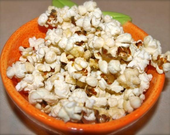 Sweet and Salty Movie Night Popcorn