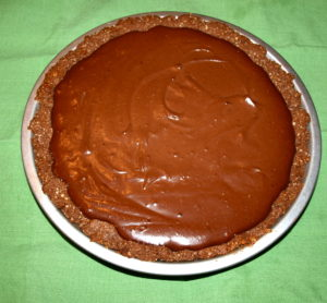 Healthy Indulgence: Vegan Chocolate Pie