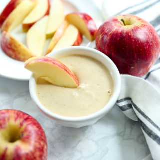 Simple Yogurt Peanut Butter Apple Dip
