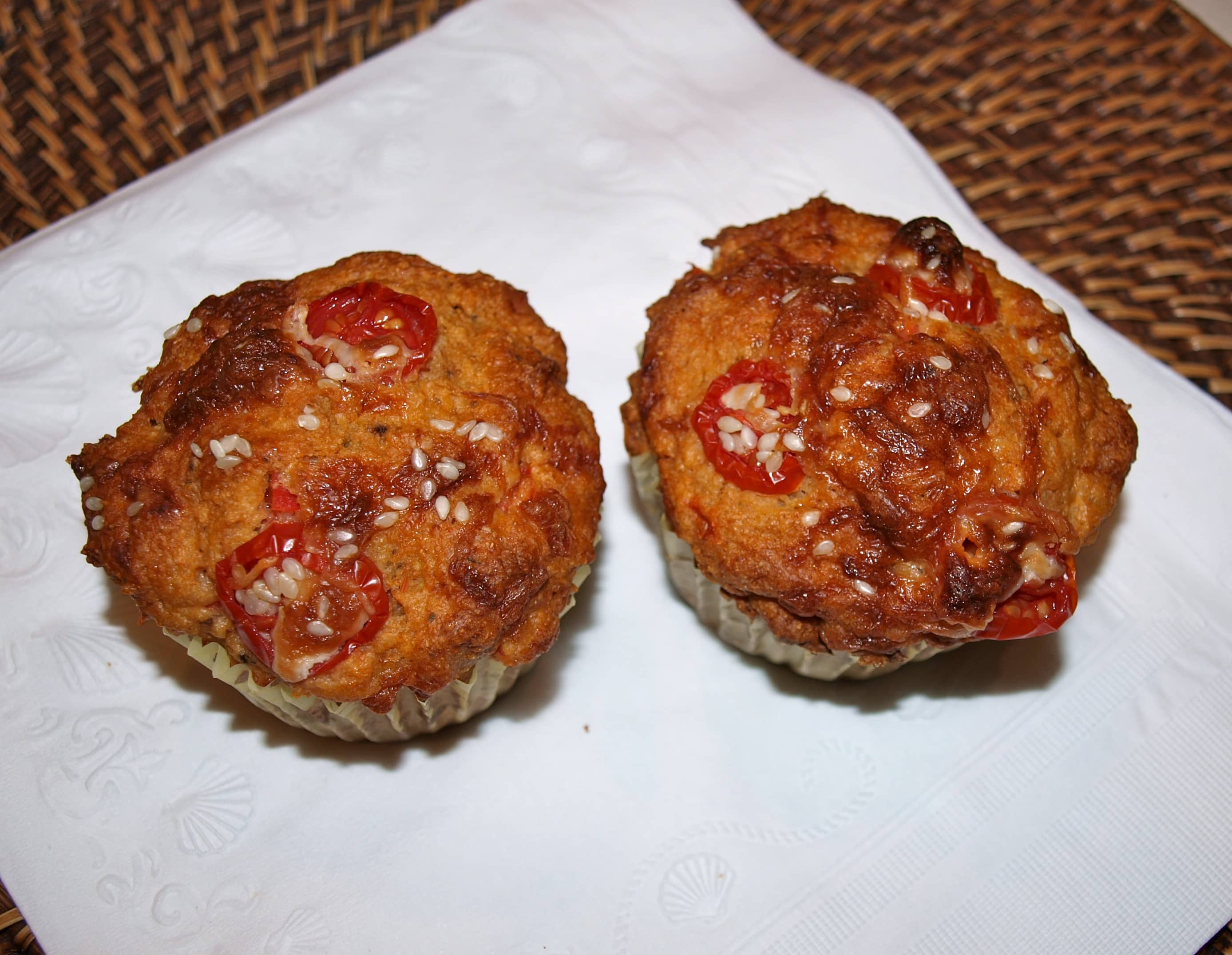 Perfect Meal-on-the-Go:  Pizza Muffins