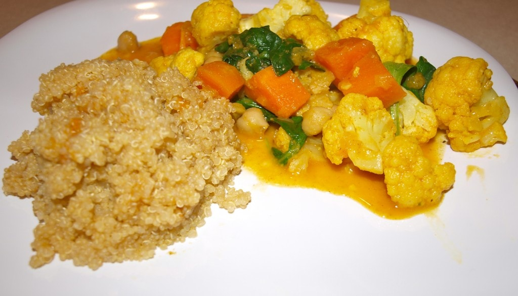 South Indian-Style Vegetable Curry with Lemony Quinoa - Happy Healthy ...