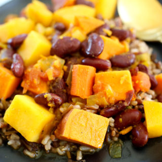 Root Vegetable and Red Bean Stew