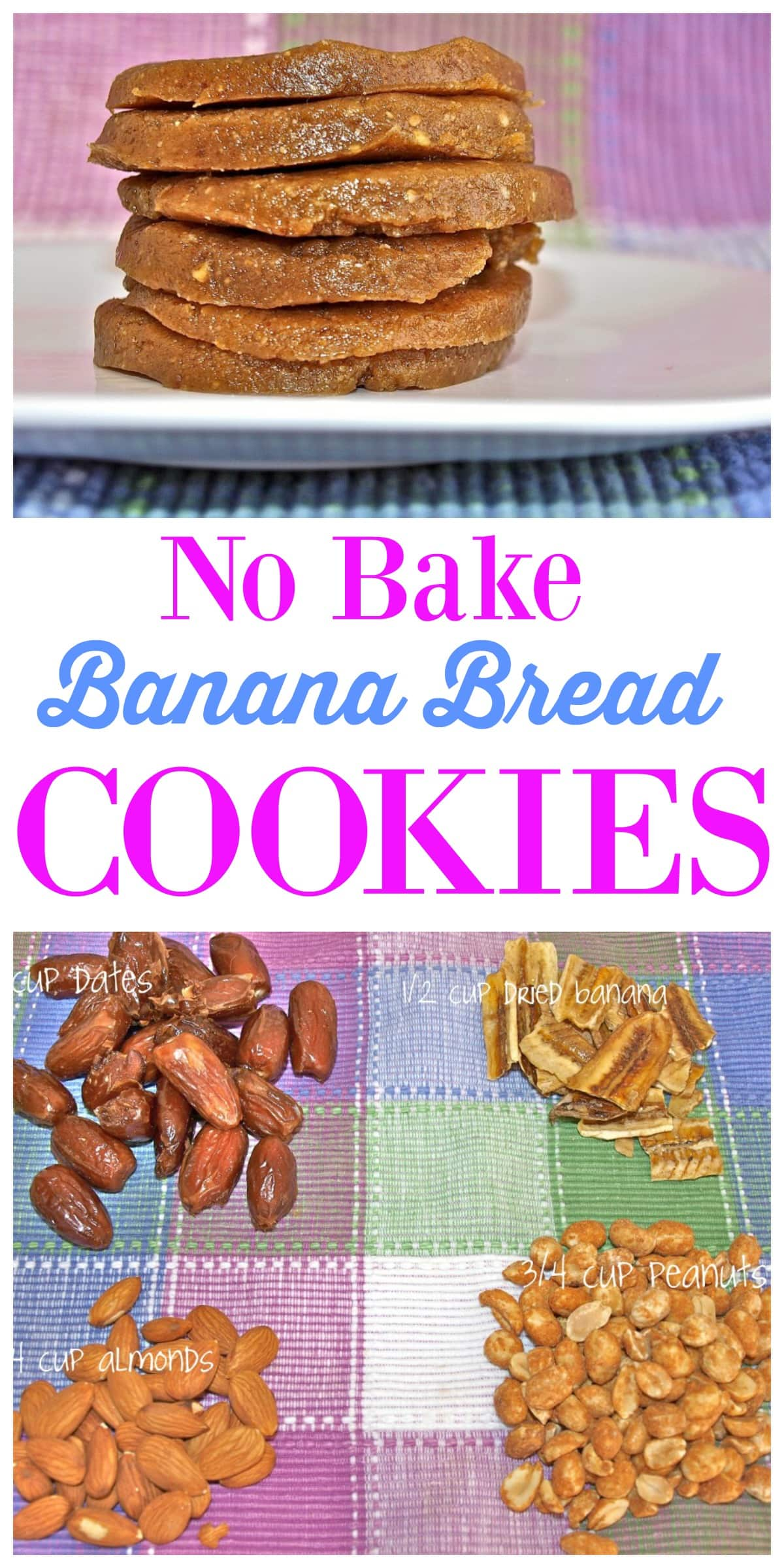 These No Bake Banana Bread Cookies are a snap to make and taste just ...