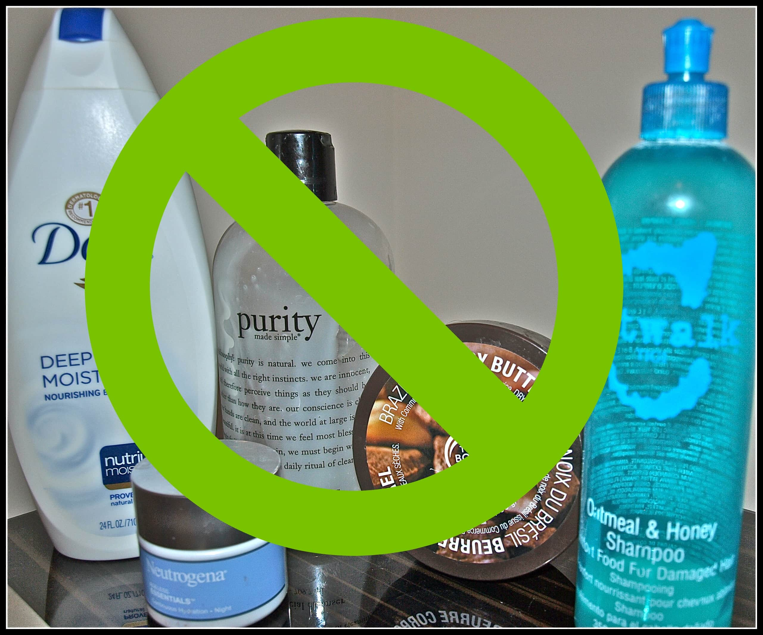 Baby Steps To Reducing Toxins:  When Natural Products Aren't Safe
