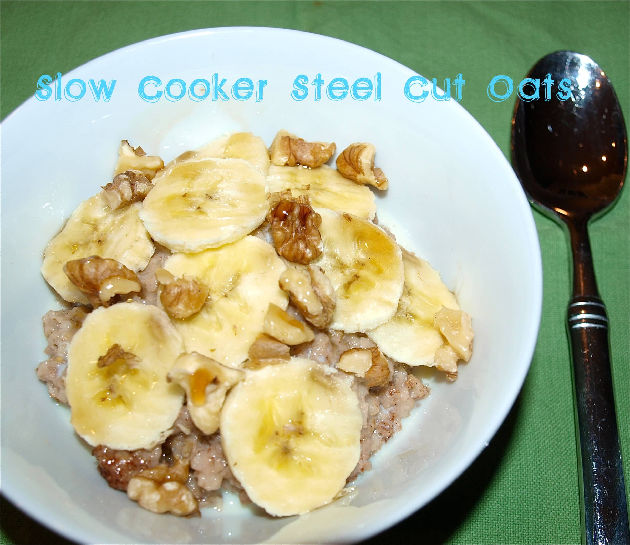 steel cut oats are the less processed brother of rolled oats because ...