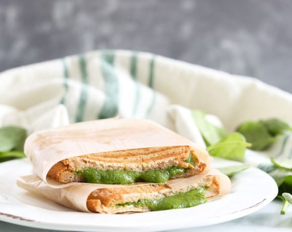 Green Grilled Cheese Recipe
