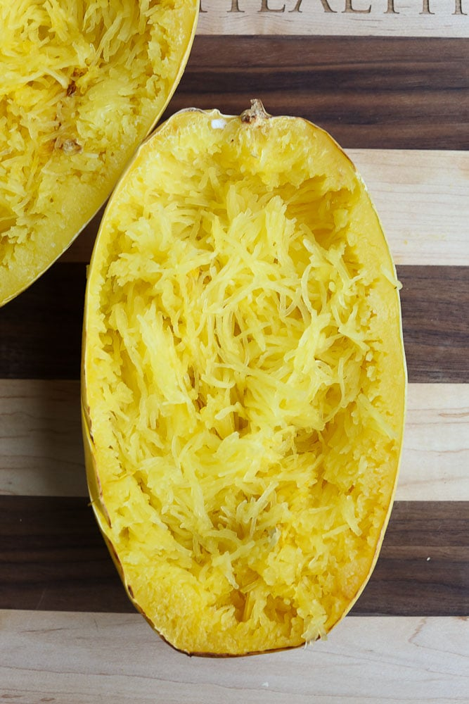 How To Cook Spaghetti Squash 4 ways microwave, oven, slow cooker, and Instant Pot