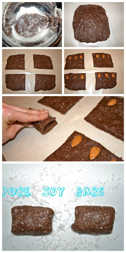 Make your own healthy Almond Joy Bars at home! This is a great clean-eating, quick and easy recipe!