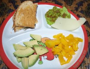 Mango and Avocado Coleslaw
