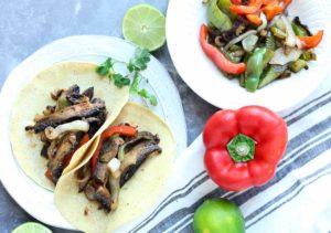 Roasted Portobello Fajitas Recipe