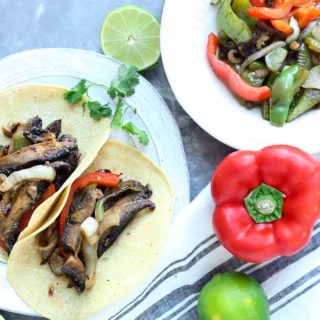 Roasted Portobello Fajitas Recipe