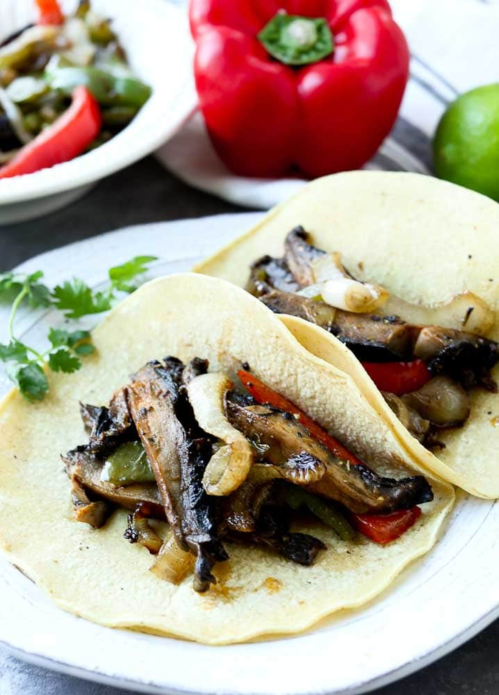 Portobello Fajitas Recipe