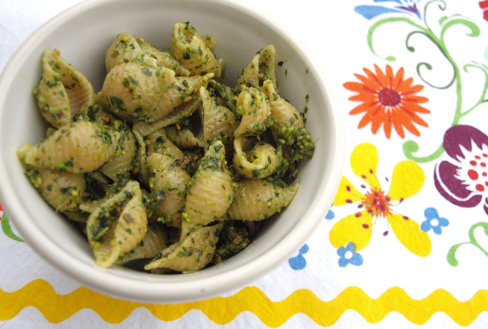 Cilantro Pesto - Happy Healthy Mama