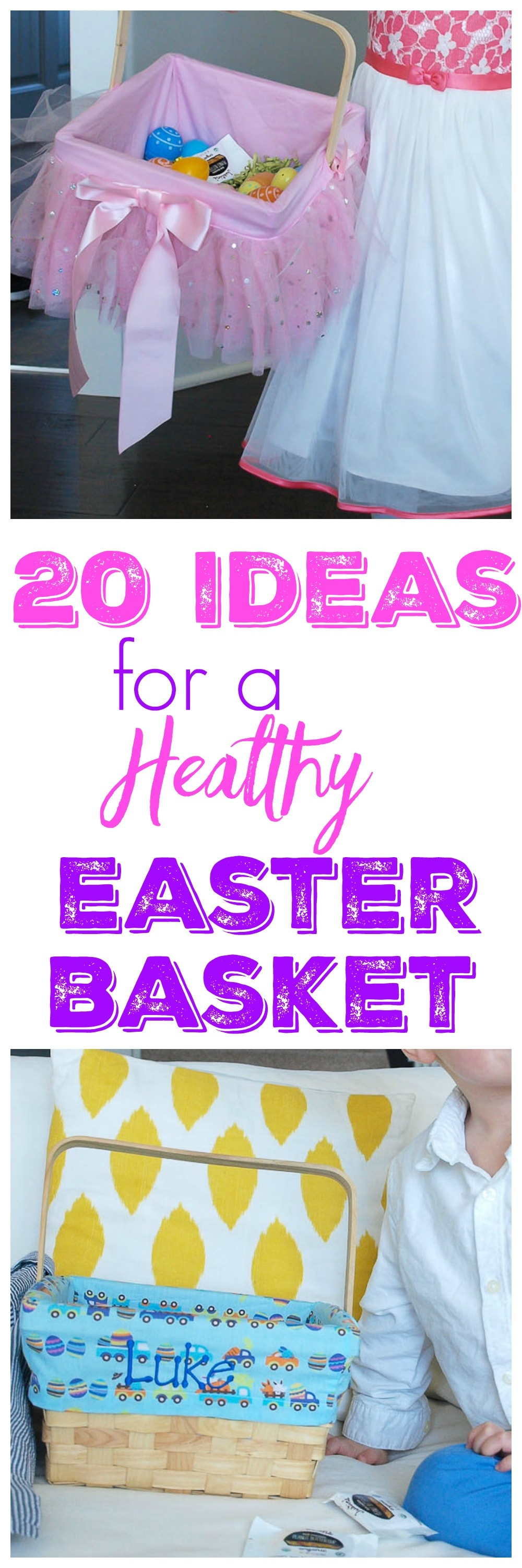 Build a healthy natural easter basket happy healthy mama 20 ideas for healthy easter basket negle Image collections