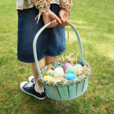 Build a {Healthy & Natural} Easter Basket
