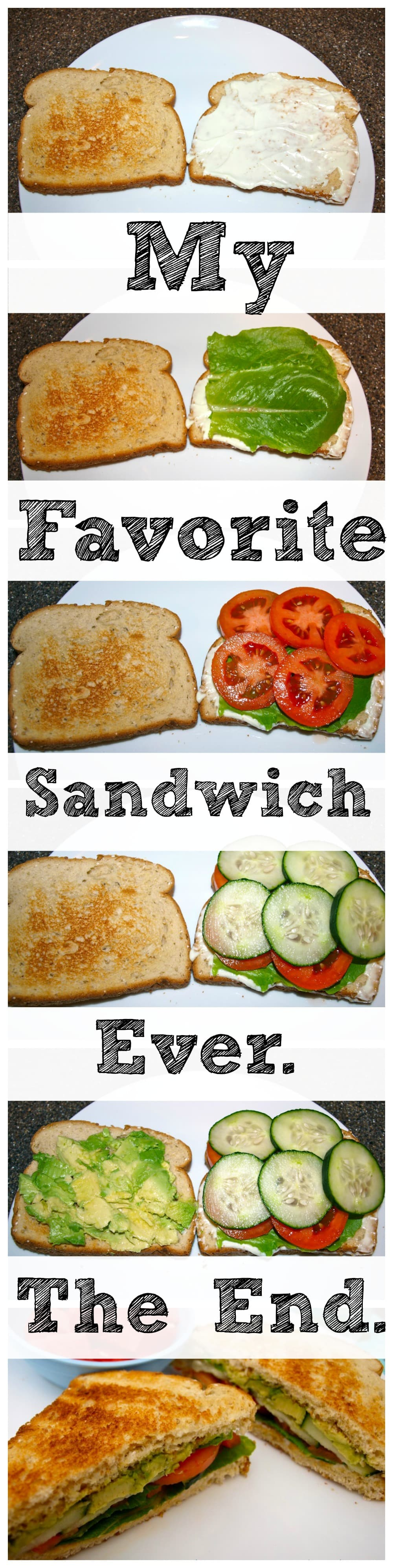 ... perfect veggie sandwich you will ever eat. You are going to fall in