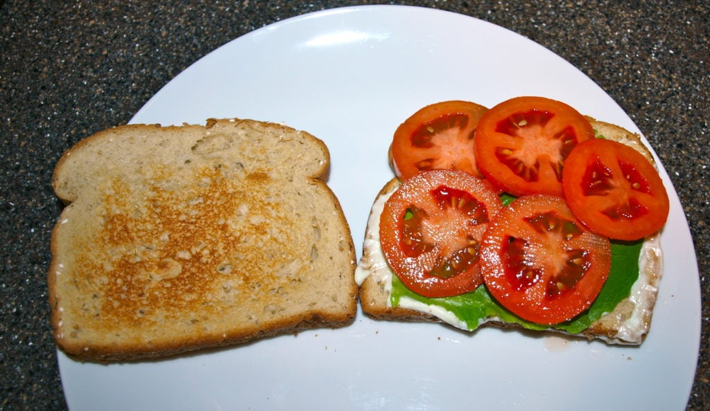 my favorite sandwich step 3