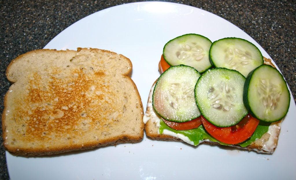 my favorite sandwich step 4