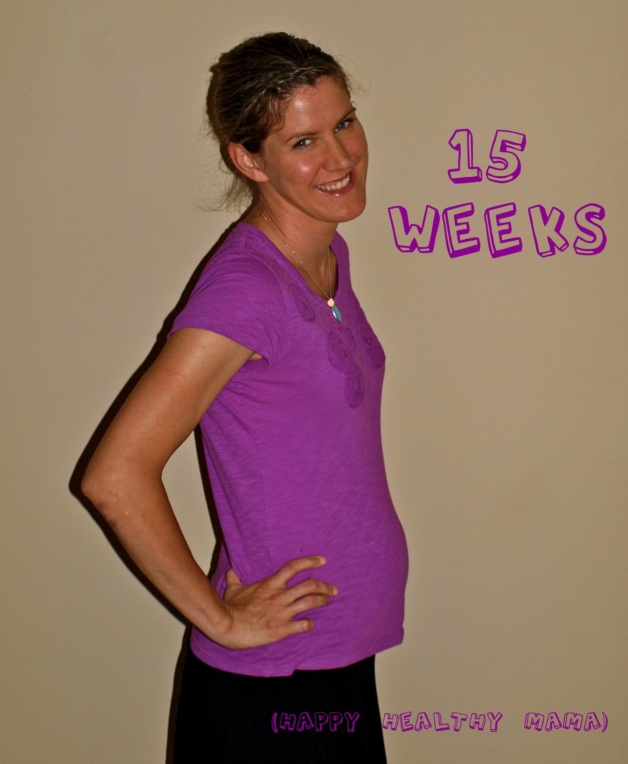 My pregnancy: 15 weeks
