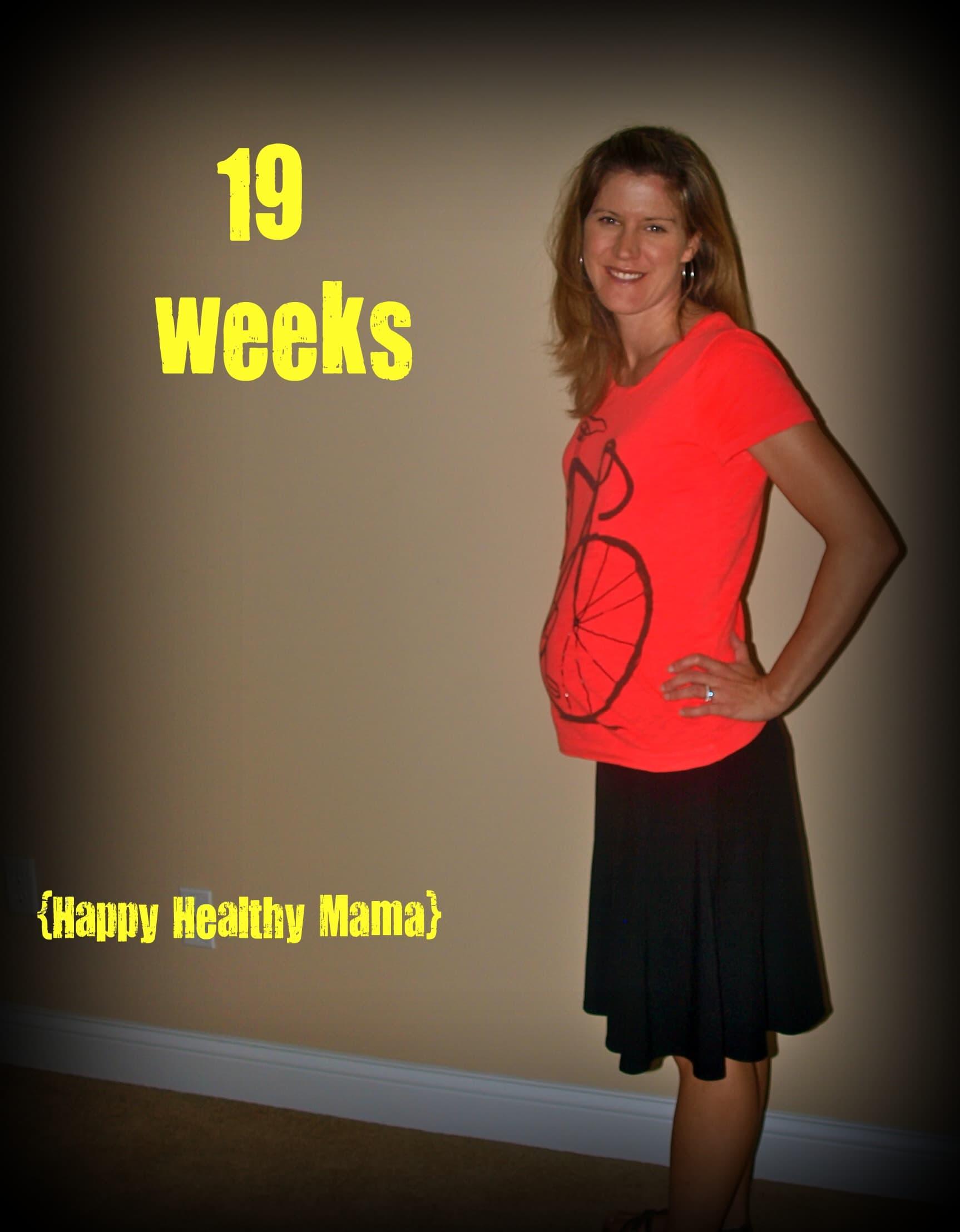 My pregnancy: 19 weeks