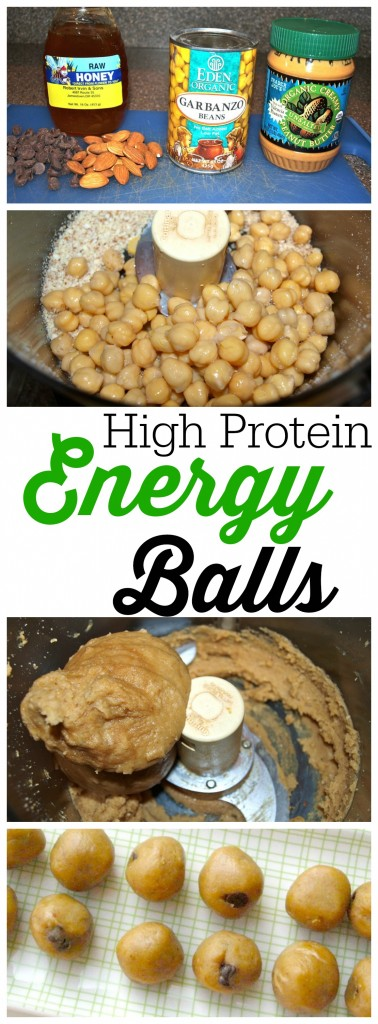 "Here's what one commenter said about these High Protein Energy Balls:  ""I just had to tell you how much my family & I love this recipe! I've made it at least a dozen times and they just seem to get better tasting each time. My picky 17-year-old daughter loves them, and I just gave them to my 7-year-old niece last week for breakfast. She loved them so much she asked me to make her a batch to keep at her house. I took them over to her today, and my sister-in-law just called for the recipe. They are such a hit!"" This is a quick and easy healthy snack recipe with NO oil, NO flour, and NO refined sugar!"