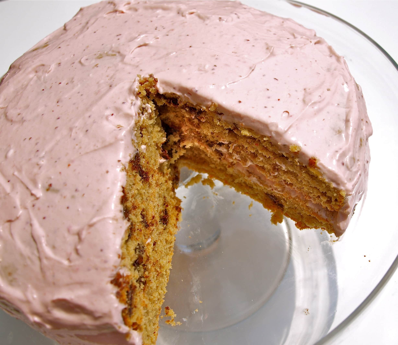 A Healthier Birthday Cake