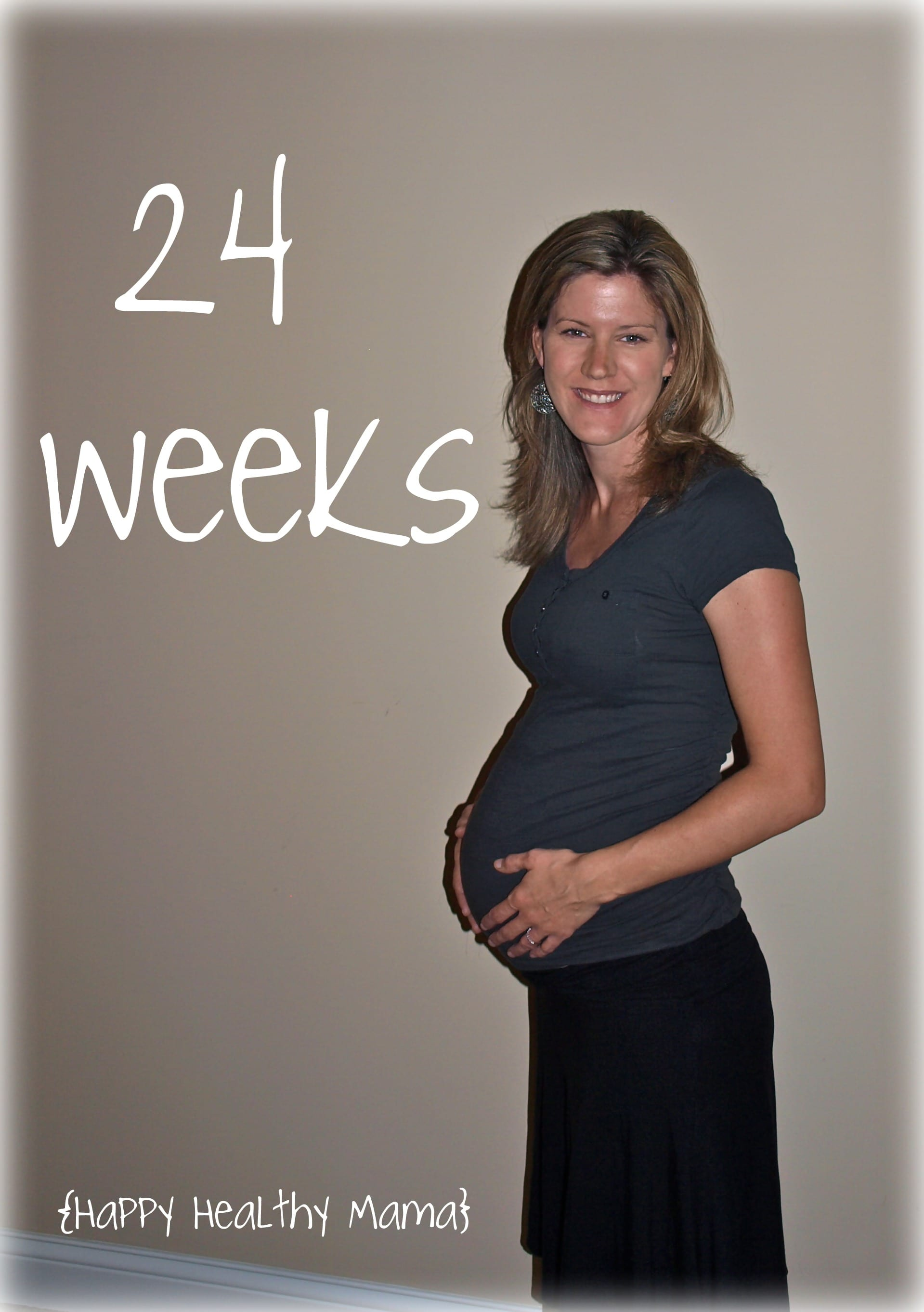 My pregnancy: 24 Weeks - Happy Healthy Mama