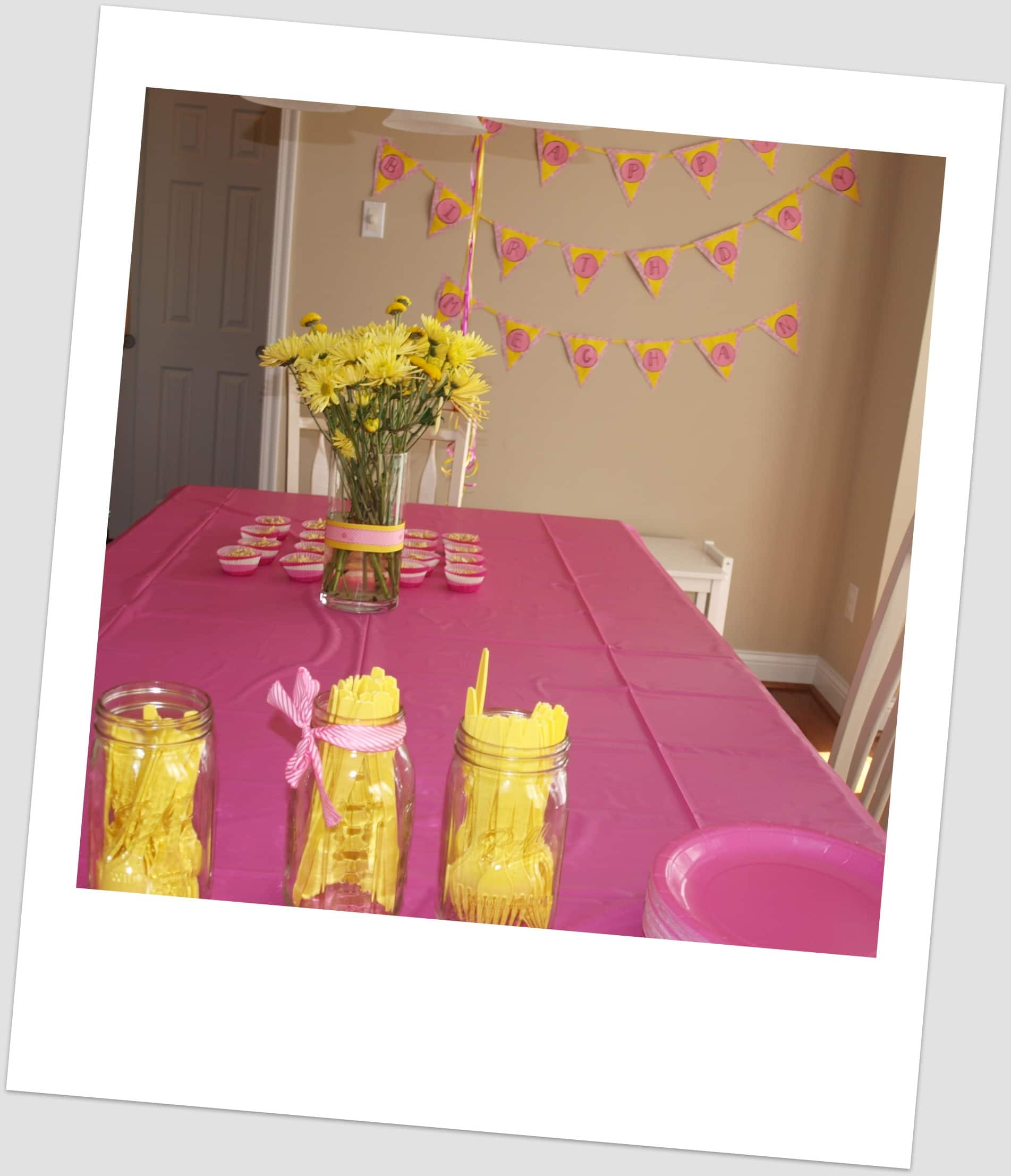 meghan s pink and yellow princess party happy healthy mama