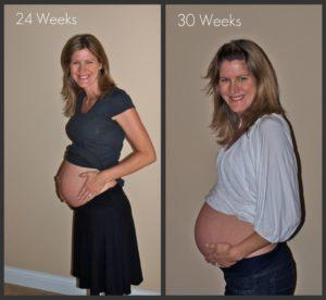 My pregnancy:  30 weeks