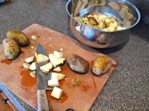 Potato cauliflower bake