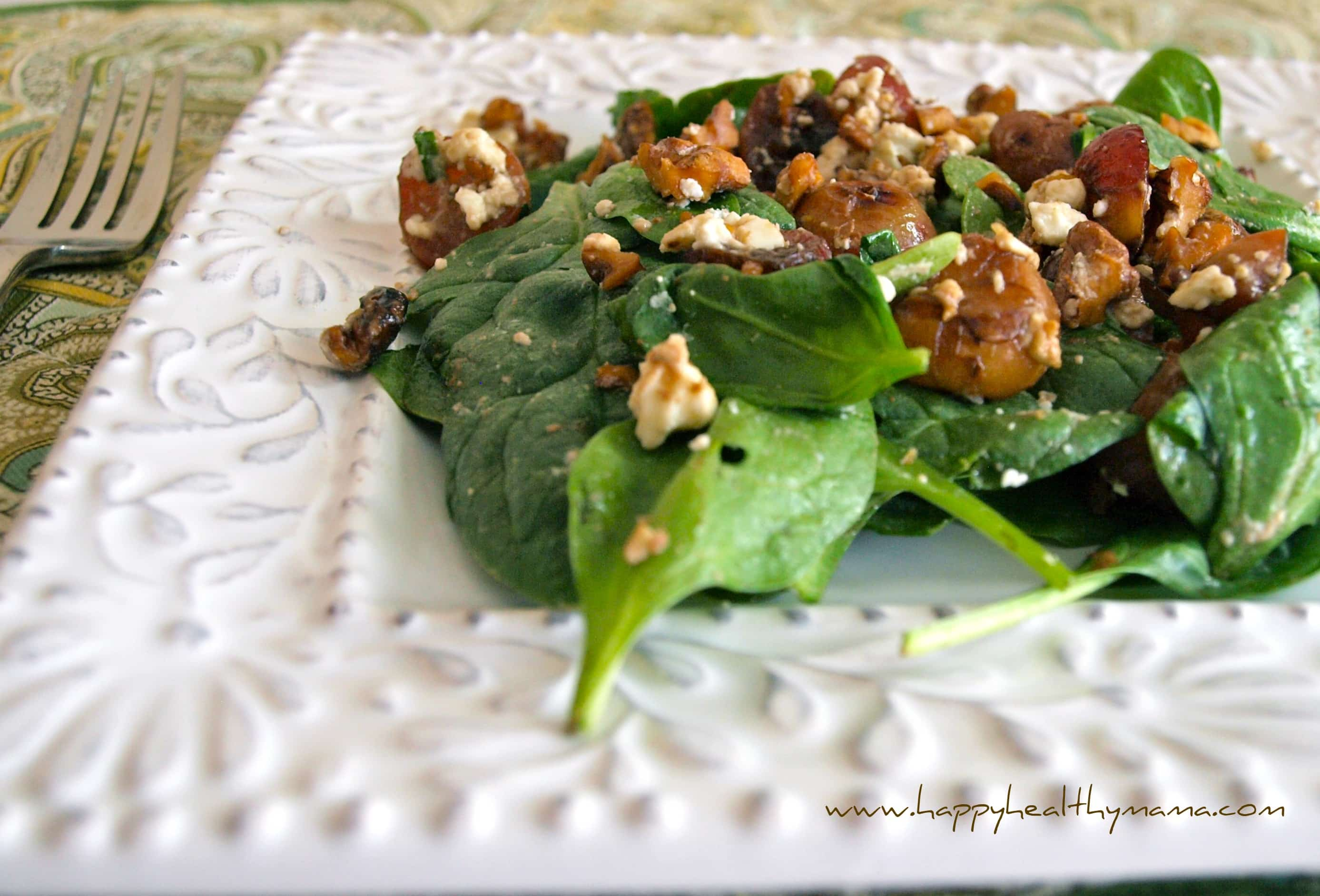 grape-walnut salad