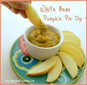 White Bean Pumpkin Pie Dip