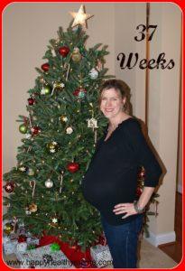 My pregnancy:  36 & 37 weeks