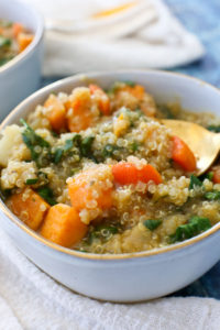 Quinoa Vegetable Stew Recipe