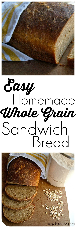 New year\'s resolution: master homemade sandwich bread - Happy ...