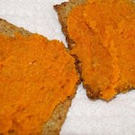 vegan carrot spread