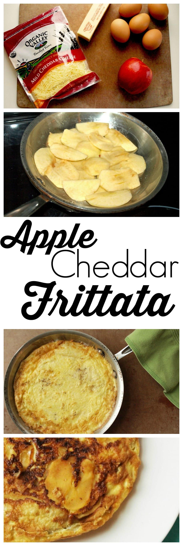 Apple cheddar frittata - Happy Healthy Mama