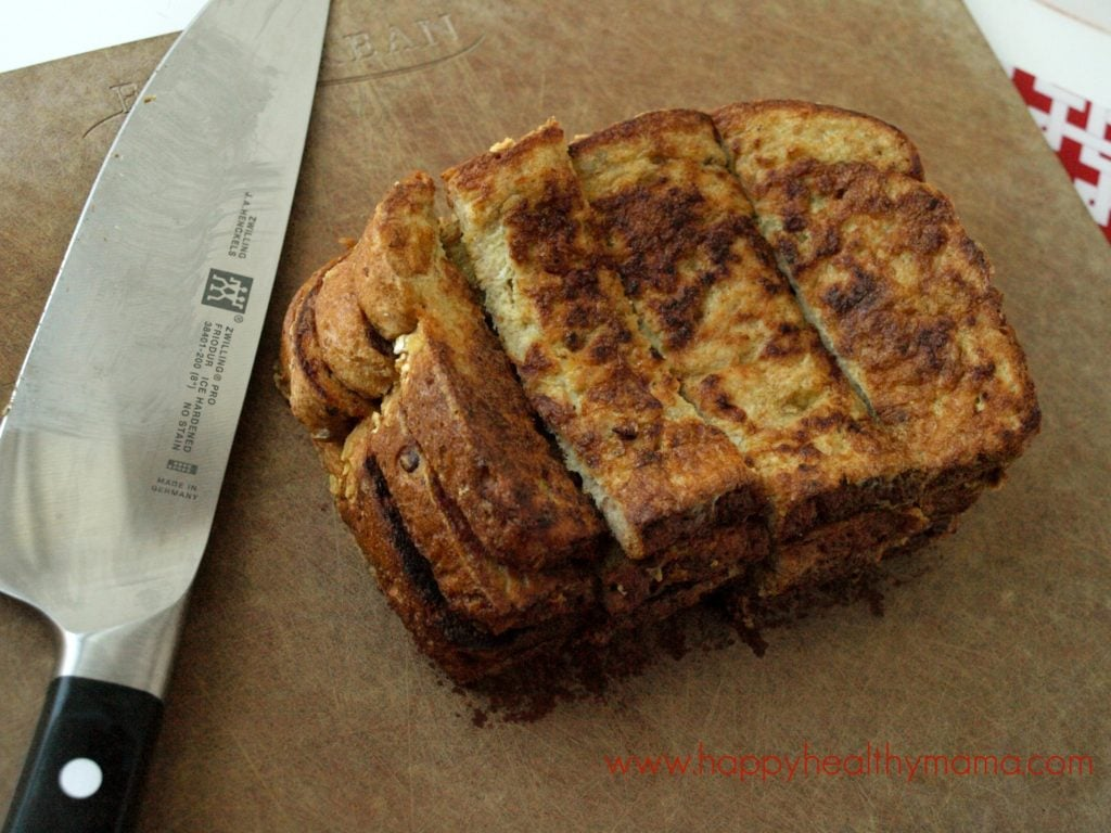 Healthier make-ahead frozen French toast sticks - Happy ...