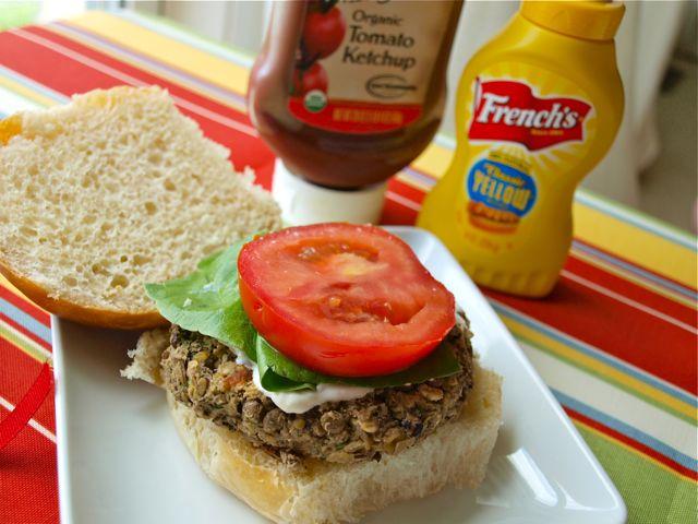 Lentil Burgers (vegan, gluten-free)