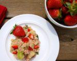Strawberry Quinoa Salad--light and refreshing salad recipe!