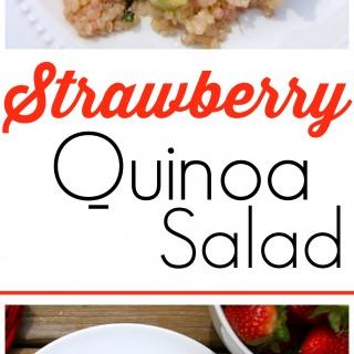 Strawberry quinoa salad {vegan, gluten-free}