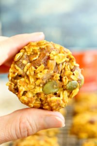 Pumpkin Breakfast Cookies recipe
