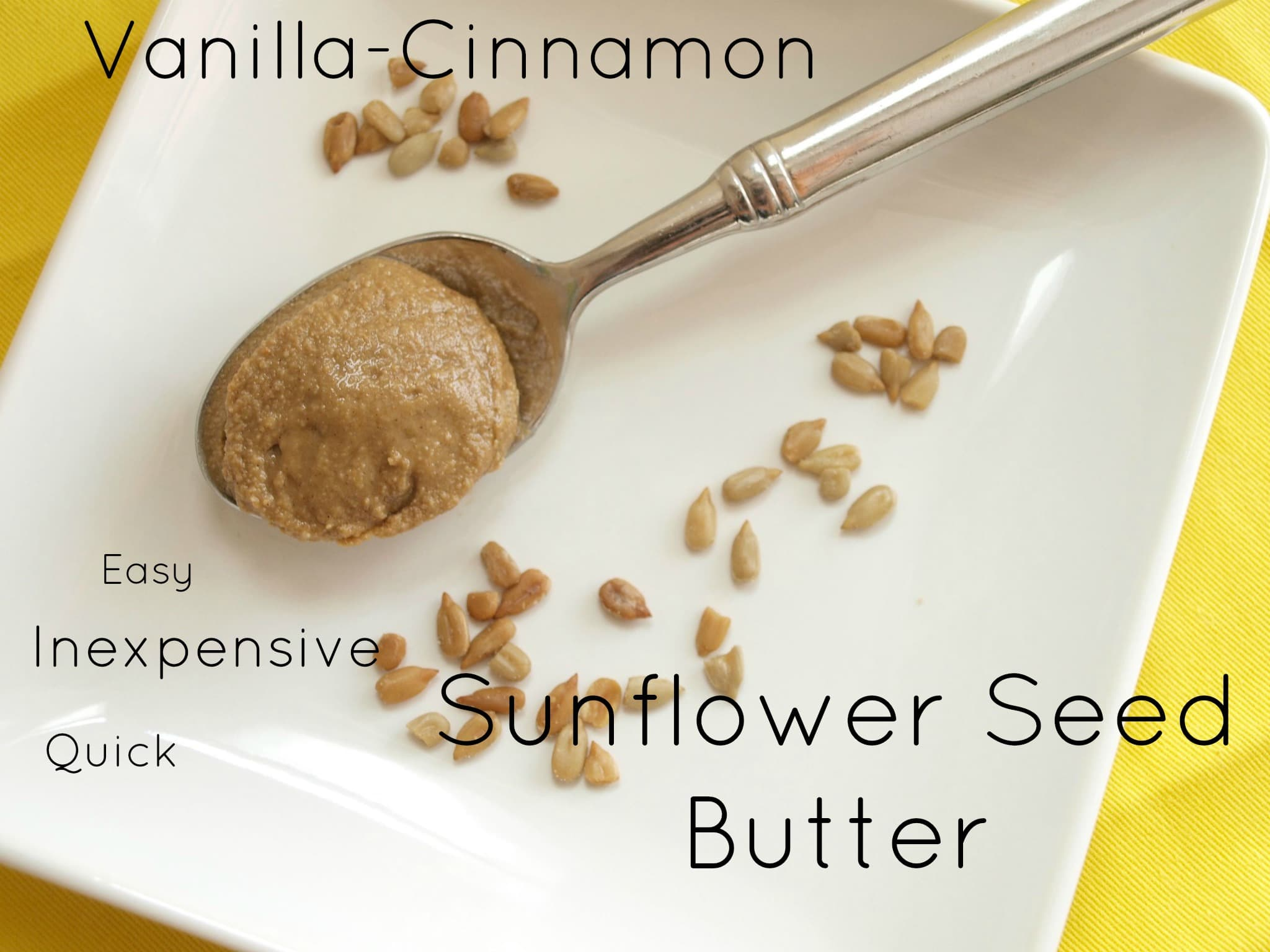 Homemade sunflower seed butter: a cost comparison and recipe - Happy ...