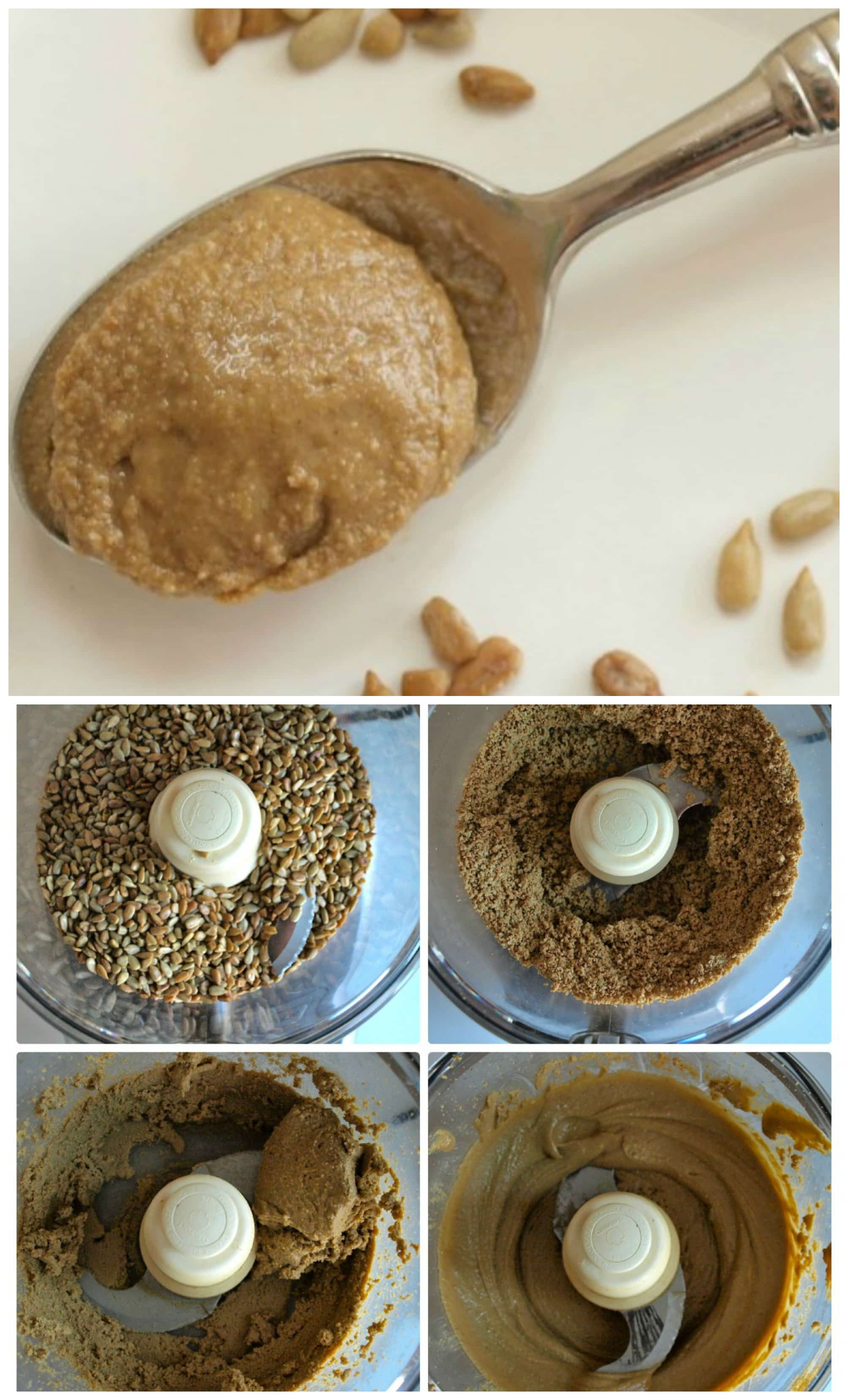 Homemade Sunbutter--Making sunflower seed butter at home is easy and saves you a lot of money!