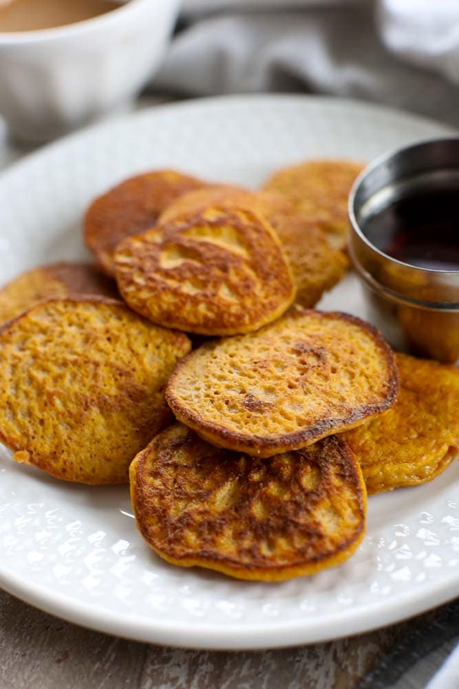 2 ingredient sweet potato pancakes