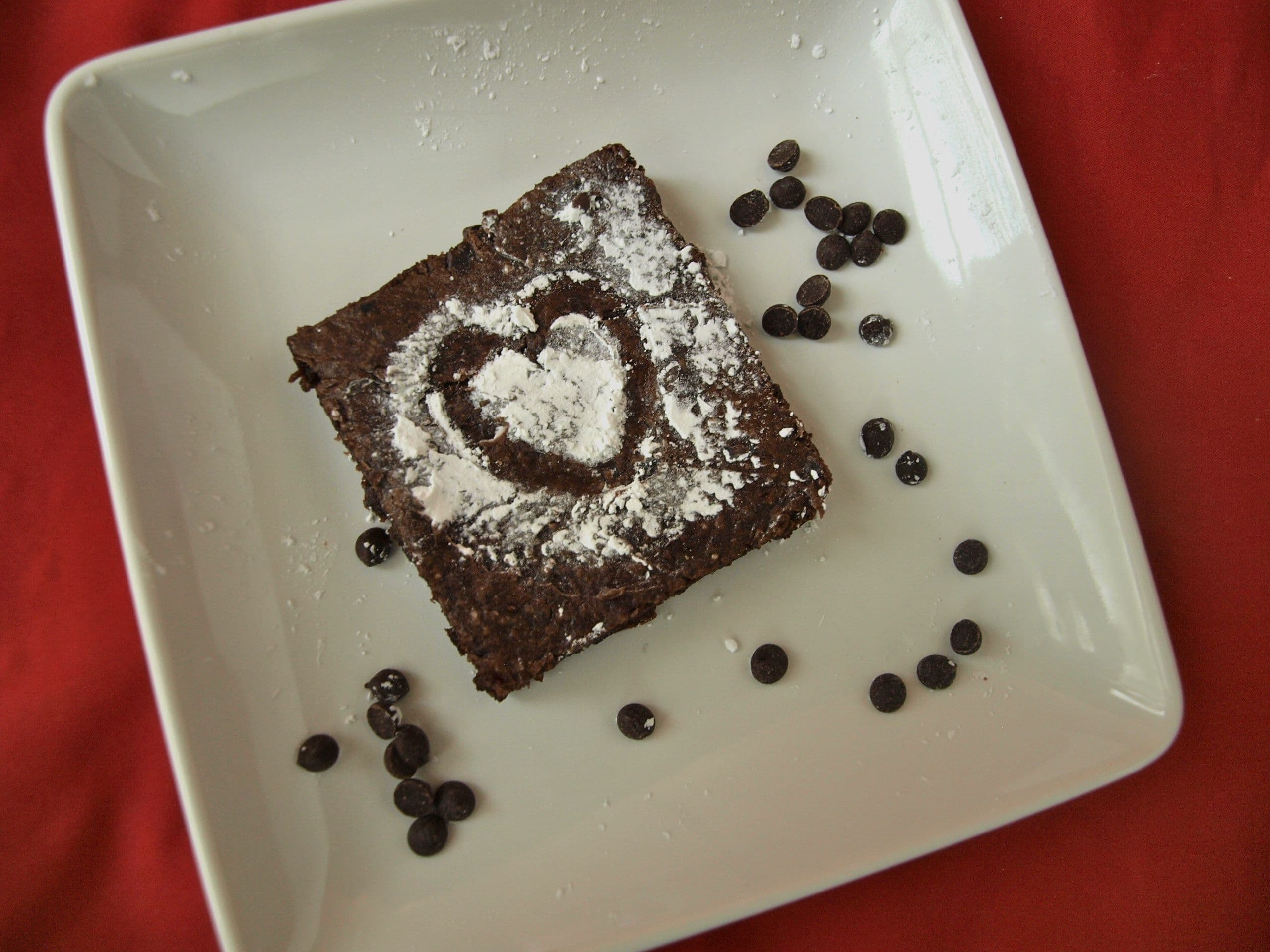 The world's healthiest brownie {vegan, gluten-free, nut-free, soy-free}