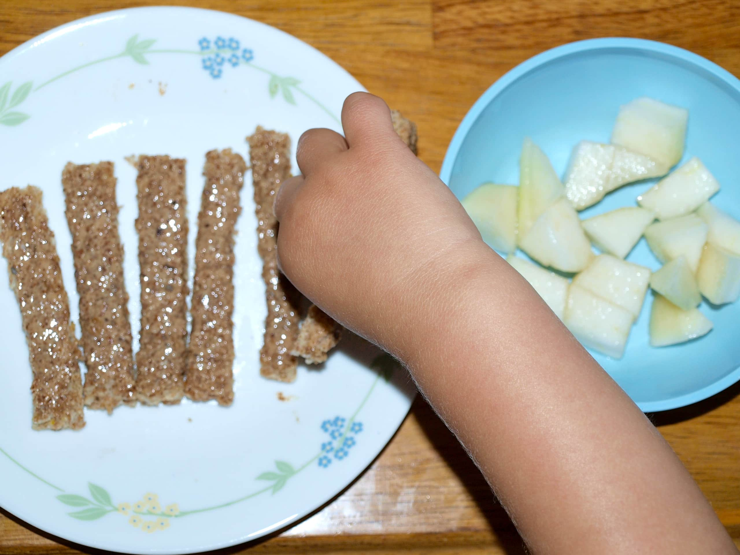 What my milk-soy protein intolerant toddler eats in a day